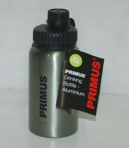 Primus 735200 Aluminum Camping Water Bottle Titanium Color