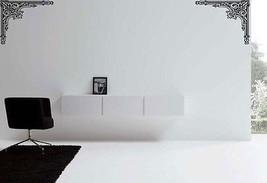 """Room Corner Design Accent Vinyl Wall Sticker Decal 18""""h each (2 decals) - $29.99"""