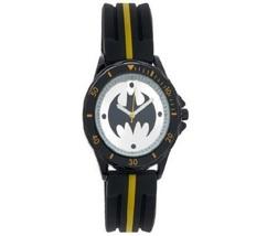 BATMAN Yellow Stripe Sport Watch - New in Metal Box (Accutime) - Free Shipping!! - $24.99