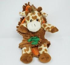 """11 """" Fiesta Couverture Bébés Bébé Girafe Animal en Peluche Adorable Doux Marron - $34.29"""