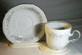 Haviland Floral Splendor Coffee Cup And  Saucer - $6.29
