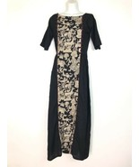salai studio natural dyed cotton kalamkari maxi dress Size M Japanese Wa... - $59.39