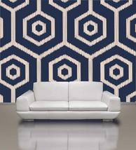 Modern Geometrical Pattern Removable Wallpaper, Home Decor , Just Peel &... - $89.00