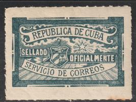 1921-1950 Cuba Stamps Cierre Oficial   NEW - $4.99