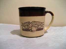 "HARDEES ""RISE AND SHINE"" coffee cup 1984 - $14.25"