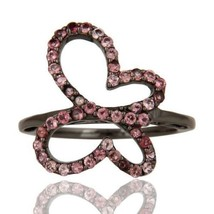 Natural Pink Tourmaline October Birthstone Ring 925 Sterling Silver Jewelry - $36.00