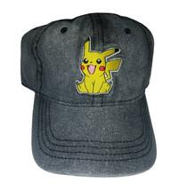 Pokemon Pikachu Black / Grey Combo Brand New Embroidered Wash Cap * Nintendo - $11.88