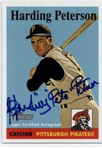 2007 Topps Heritage Real One Autographs #HP Harding Peterson Pirates /200 - $67.49