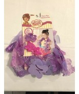 "Fancy Nancy 46"" Purple Fancy Boa With 2 Hair Clips, New - $8.91"