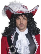 AUTHENTIC PIRATE HAT, PIRATE FANCY DRESS, ONE SIZE, MENS - $19.70