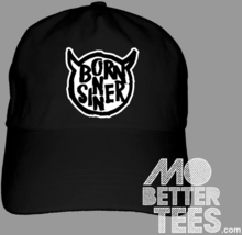 Born Sinner Dad Hat J Cole Style Choose from black or white baseball cap - $14.99