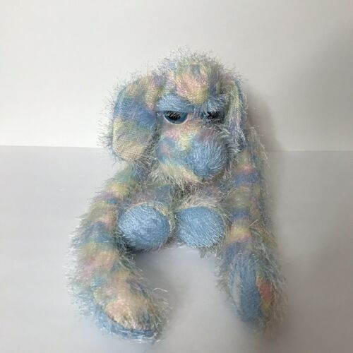 "Primary image for Russ Berrie Dory Dog Plush Multi-Color Fuzzy Floppy Sticky Hands 18"" Tall"