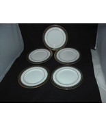 "(5) Royal Doulton ""Coleridge H5147"" Bread & Butter Bone China Plates - $9.99"