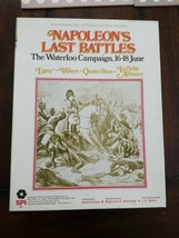 Napoleon's Last Battles: The Waterloo Campaign four game set 1976 Role P... - $79.20