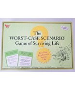 Worst Case Scenario Game Of Surviving Life University Games Completed Bo... - $13.81