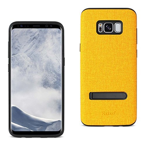 Reiko Cell Phone Case for Samsung Galaxy S8 - Yellow
