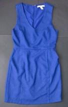 Forever 21 Swiss Dot Blue Dress M Sleeveless V-Neck Has Pockets  - $14.84