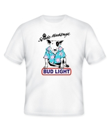 Bud Light Spuds MacKenzie Beer T Shirt Choose Size S M L XL 2XL 3XL 4XL 5XL - $17.49+