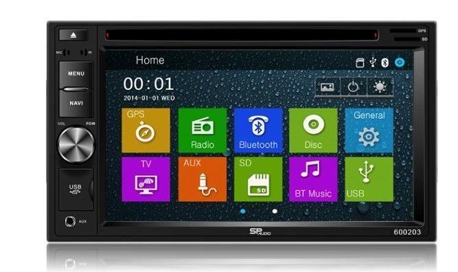 DVD GPS Navigation Multimedia Radio and Dash Kit for Honda Element 2008