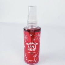 Bath & Body Works Champagne Apple & Honey Fragrance Mist Travel size 3oz... - $9.11