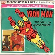 Iron Man 3d View-Master 3 Reel Packet - $29.45