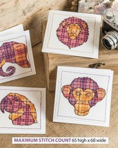 ANIMAL CARDS  -  CROSS STITCH  PATTERN ONLY    ALS-EPW - $6.39