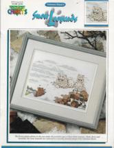 Color Charts Cross Stitch Pattern-SNOW LEOPARDS-Solomon Dixon's - $6.76