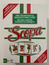 Open Box Scopa Traditional Italian Card Game Three Games in One Outset 2013 - $15.88