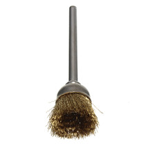 1Pc 16mm Brass Wire Wheel Brushes Fit For Rotary Tool Accessories Top Quality - $2.31