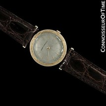 1961 GIRARD PERREGAUX Vintage Mens Midsize Modernist Watch - 14K Gold - ... - $975.10