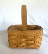 Longaberger Salt and Pepper Basket Protector Signed by 4 Family Members! - $24.49