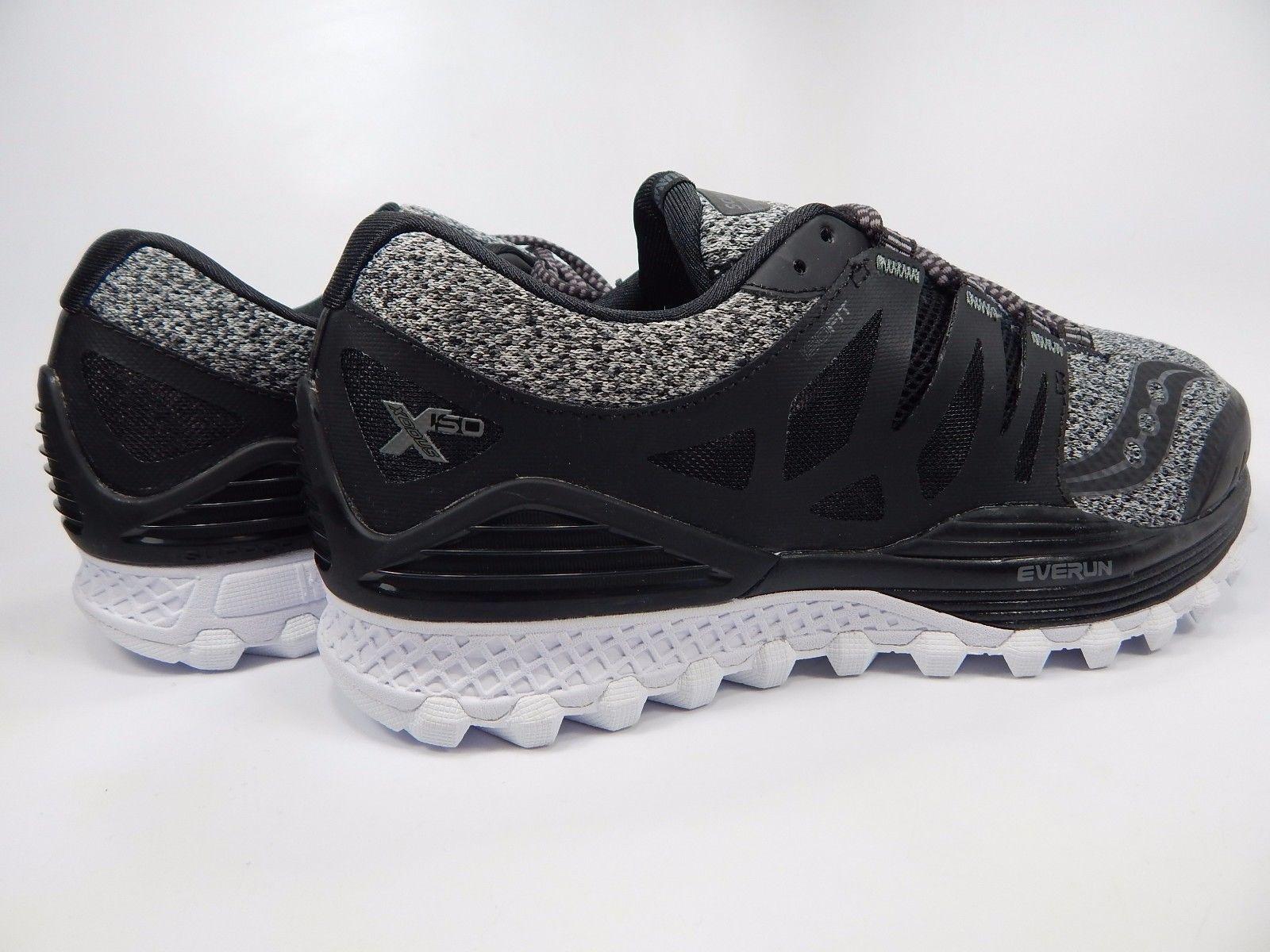 Saucony Xodus ISO LR Men's Running Shoes Sz 9 M (D) EU 42.5 Marl Black S20365-1