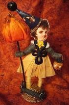 Vintage Inspired Spun Cotton Halloween Trick or Treater - $39.98