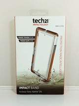 Tech21 Impactology Impact Band for Sony Xperia Z1s -   Clear/Orange - $5.44