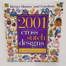 2001 Cross Stitch Designs Essential Reference Book Better Homes Gardens 1999  - $20.00