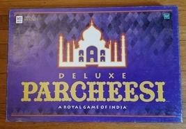 PARCHEESI DELUXE ROYAL GAME OF INDIA 1999 HASBRO MILTON BRADLEY 04017 SE... - £18.18 GBP