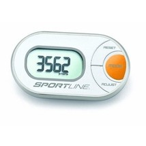 SPORTLINE 310 QLIP ANY-WEAR PEDOMETER Opened But Never Used w/Box and Ma... - $19.79