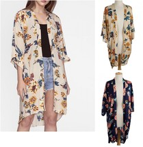 NWT! Do Everything In Love - 3/4 sleeve Floral Kimono - OS Fits Most - $39.99