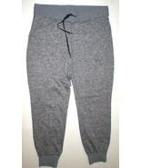 New Womens Athleta Flux Jogger Pants L Black White Heather Casual Pocket... - $64.50