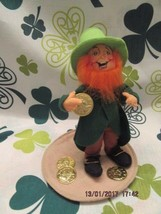"Annalee Dolls 1999 7"" Lucky The Leprechaun With Coins Mwt - $40.00"