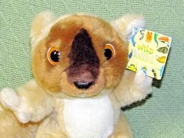 "WILDLIFE ARTISTS BUSH BABY Plush Stuffed Animal ORIGINAL TAG 2004 9"" Tan... - $14.03"