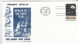 PROJECT APOLLO THE FIRST STEPS DOW-UNICOVER CAPE CANAVERAL FL JULY 16 1969 - $1.98