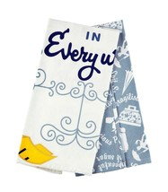Disney Parks Mary Poppins Perfect in Every Way Dish Kitchen Towels Set New W Tag - $25.86