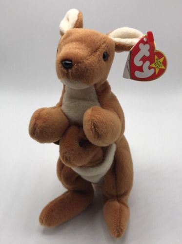 1212b5586eb Ty Beanie Babies Pouch The Kangaroo 1996 and 50 similar items. 12