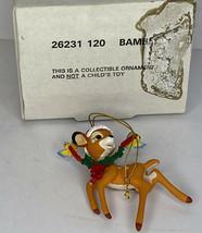 Disney Bambi Christmas Magic Ornament 120 26231 - $12.86