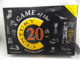 Game Of The 20TH Century Trivia Board Game Edition Age 15+ Vgc 1900 - $11.99