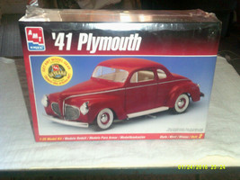 AMT/Ertl #6184  41 Plymouth 1:25 Scale 2in1 - $22.29