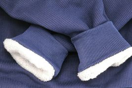 Men's Heavyweight Thermal Zip Up Hoodie Warm Sherpa Lined Sweater Jacket image 13