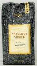 Meijer Hazelnut Creme Ground Coffee 12 oz - $9.40