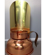 Copper Lantern Coppercraft Guild Hurricane Candle Wall Vintage Old Fashi... - £8.89 GBP